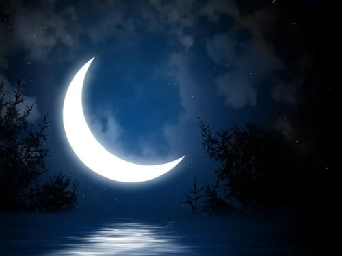 Каким он будет 1 лунный день?