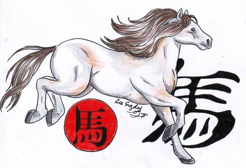Знак Восточного гороскопа Лошадь
