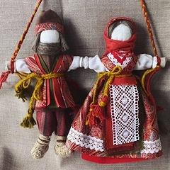 Славянские куклы-обереги: мастер-класс по созданию
