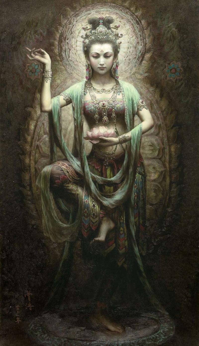 Богиня Зелёная Тара